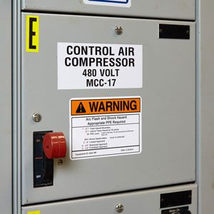 Brady Arc Flash Color Label Solutions