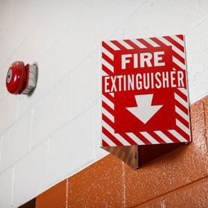 Brady Color Fire Safety Signs