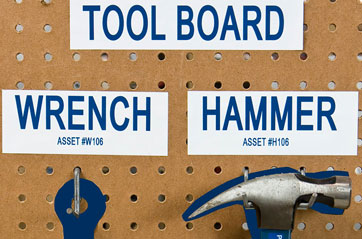 Brady Tool Board with Color Shadow