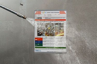 Brady Lockout Tagout Toughwash Procedure - Ideal for the Food and Beverage Industry