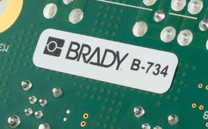 Brady B-734 Laser Markable PCB Labels