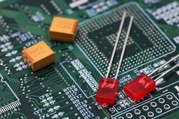 Printed Circuit Board and Electrical Components