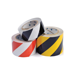 Collection of patterned floor tape rolls for social distancing floor marking